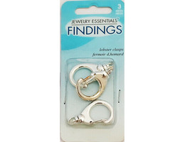 Horizon Jewelry Essentials Findings Lobster Claw Clasps, Set of 3