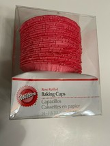 Ruffled Rose Color Standard Baking Cups 24 ct. from Wilton - $7.43