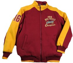 Medium Men's Cleveland Cavaliers 2016 NBA Finals Champions Jacket Poly Fleece
