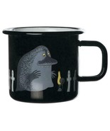 Moomin Enamel Mug Retro Groke 3,7 DL * NEW - $20.95