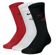 Youth Nike Crew Socks Boys Athletic Basketball Sports Training Cushion K... - $18.81