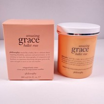 Philosophy Amazing Grace Ballet Rose Whipped Body Creme 16 Oz New In Box - $37.11