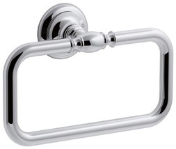 KOHLER K-72571-CP Artifacts Towel ring, Polished Chrome - $111.34