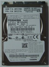 100GB 2.5in SATA Drive Toshiba MK1034GSX HDD2D37 Free USA Ship Our Drive... - $24.45