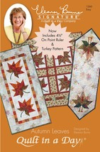 Quilt in a Day Autumn Leaves Quilt Pattern - $14.39