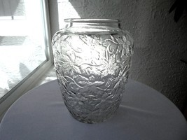 Princess House Fantasia Pattern Small Storage Jar No Lid - $9.89