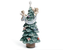 Lladro 8403 EVERGREEN OF PEACE 01008403 New in original box Christmas - $520.03