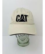 CAT Caterpillar Callaway Golf Hat Cap Khaki Strapback Adjustable - $49.01