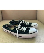 Converse All Star Shoreline Black Canvas Sneakers Womens US 11 - $27.73