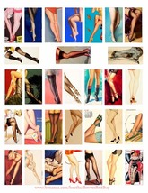 womans body legs feet high heels clipart digital download collage sheet ... - $2.99