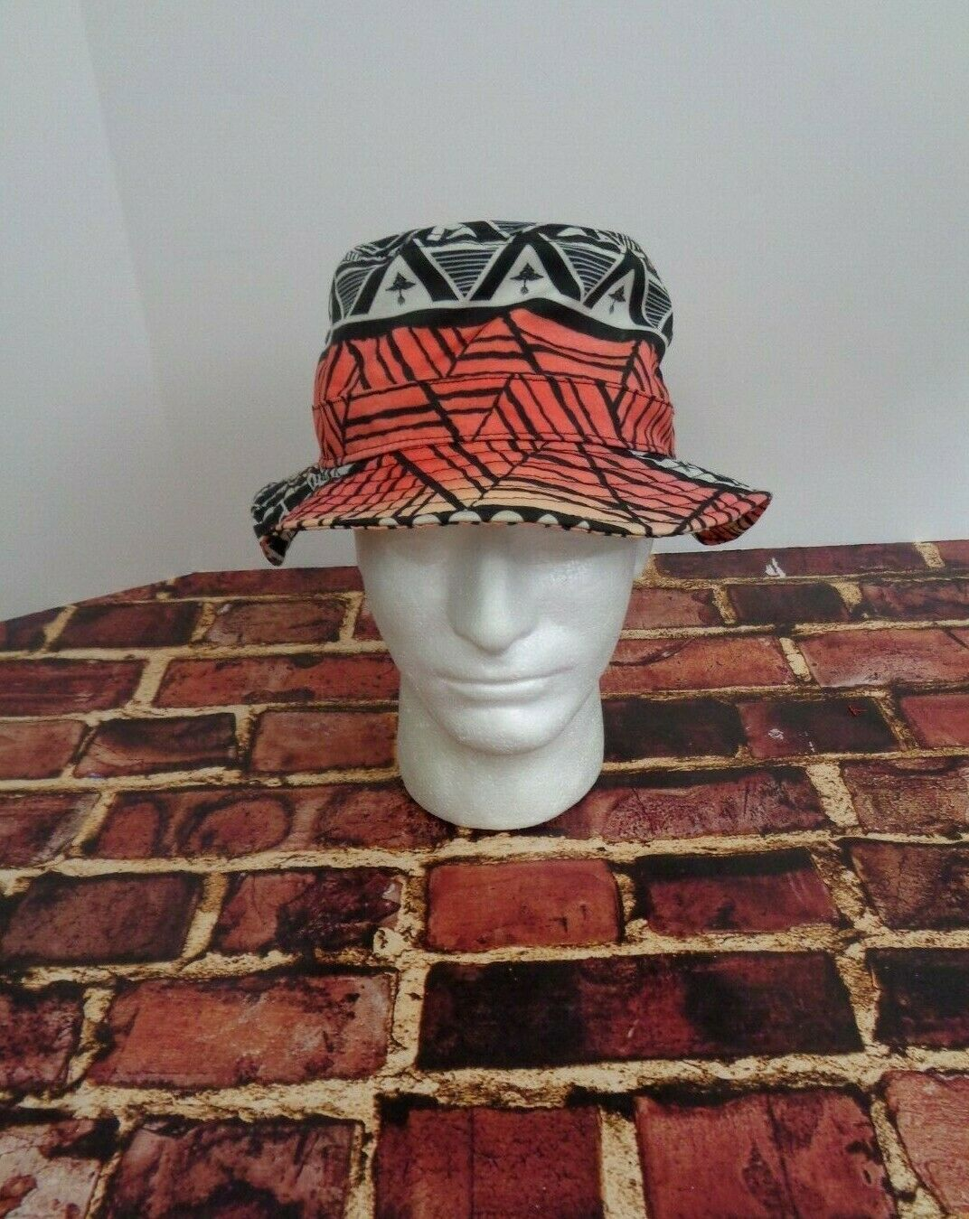 Primary image for LRG Lifted Research Group FLOPPY Cap Hat Sun Fashion Black Orange Red True Heads