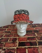 LRG Lifted Research Group FLOPPY Cap Hat Sun Fashion Black Orange Red Tr... - $14.69