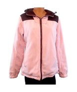 Free Country Reversible Pink & Brown Ladies Women's Coat Jacket Large - $43.00