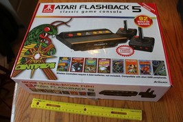 Atari Flashback 5 Retro Classic Game Console & joystick controllers 92 games - $22.77