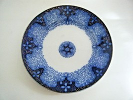 """Flow Blue Persian Moss 9 3/8"""" Plate Made In Germany - $79.15"""