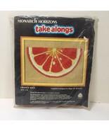 "Orange Slice Longstitch Kit Monarch Horizons 7"" x 5"" - $8.79"