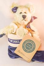 Boyds Bears: Andrei Berriman - Teddy Bear - Blue Stocking - 7 inch plush - $12.91