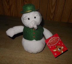 Prestige Sam the Snowman Rudolph Island of Misfit Frosty Plush Bean Bag ... - $12.63
