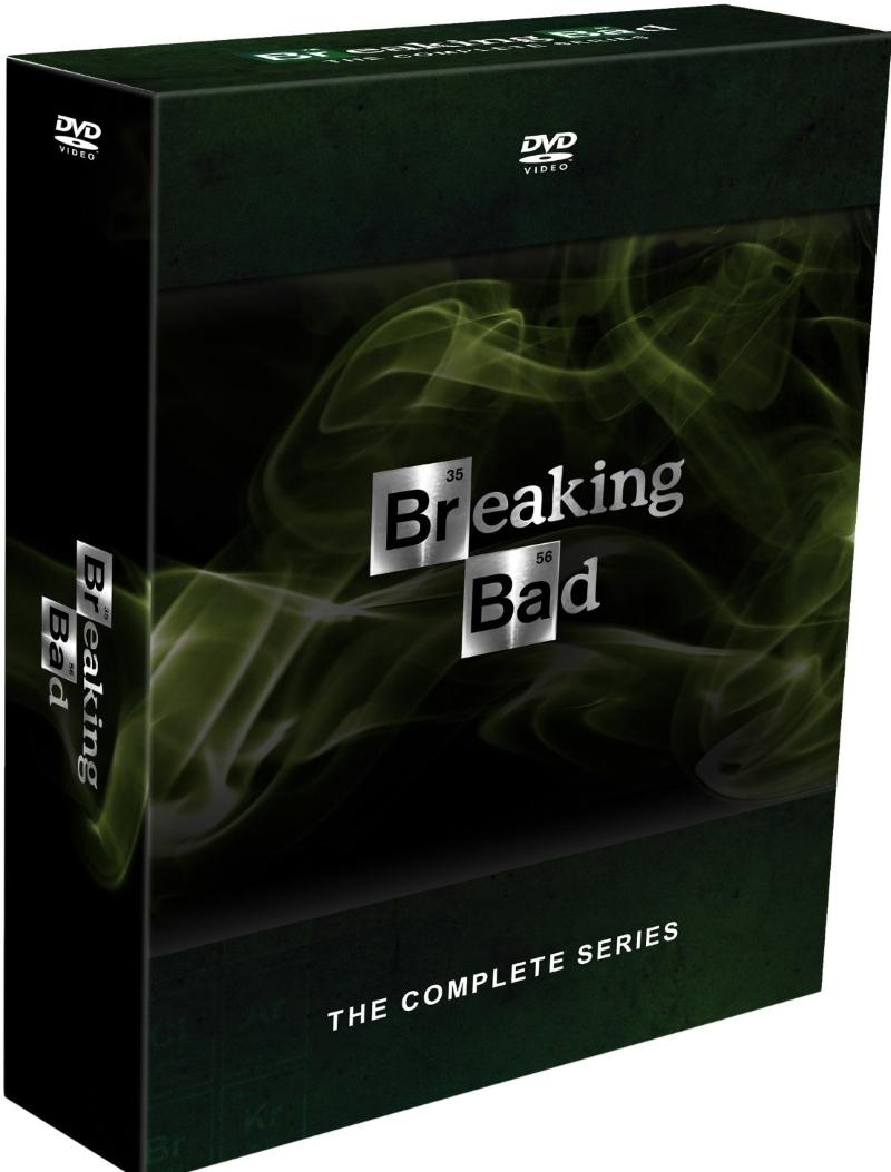 Breaking bad the complete series season 1 6 final  dvd 2014  21 disc  cranston
