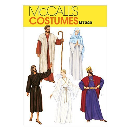Primary image for McCall's Patterns M7229 Christmas Robe Costumes Sewing Template, XLG (44-46)