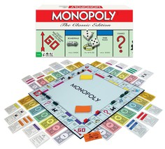 Hot Sale! $17.95 Monopoly - The Classic Edition  - $17.95