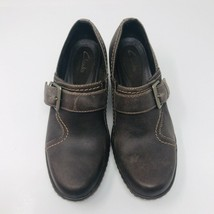 Clarks Bendables Leather Shoes Size 6 Brown  Excellent condition - $28.71