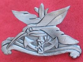 Israeli Army Navy Kingfisher Military Badge Israel Idf Pin - $9.99