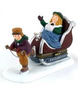 Dept 56 Heritage Village Sleighride Trinket Box Figure - $6.50