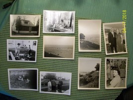 3#Jf   Estate Find!   Lot of 10 vintage photos, unknown subjects and loc... - $5.93