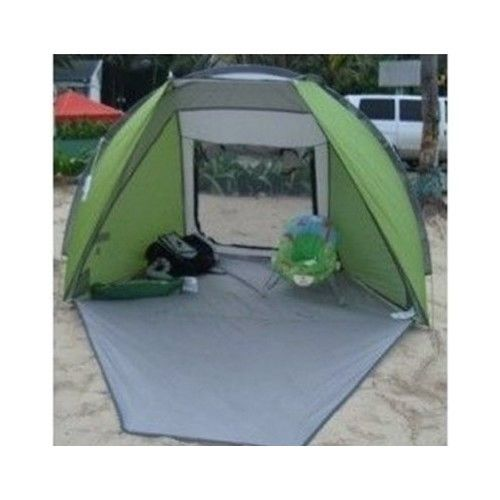 Portable Compact Canopy : Beach sun shade pop up tent outdoor portable canopy
