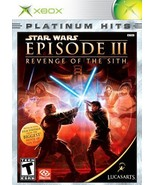 Star Wars Episode III Revenge of the Sith - Xbox [Xbox] Unknown - $4.75
