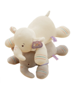 Plush Toy Elephant With Down Cotton Baby Sleeping Pillow Cushion Cute St... - $10.97+