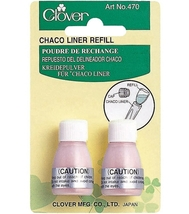 Pink Chaco Liner Marker Chalk Marking Refills by Clover 470/P - £4.13 GBP