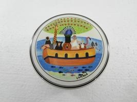 "Villeroy & Boch Naif Noah's Ark Porcelain Trinket Box 6"" Round x 2.5"" High - $36.65"