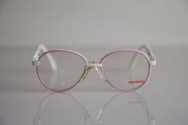 MENRAD FMG Eyewear, White, Pink Frame,  RX-Able Faux  lenses. SMALL - $59.40