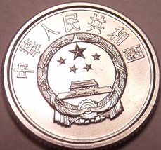 Gem Unc China 2005 1 Fen~Outstanding Coin~Free Shipping - $2.34