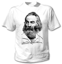 Walt Whitman   New Amazing Cotton Tshirt All Sizes Available - $23.13