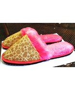 Vintage 60's-70's Deb Don Scuff Slippers Pink Gold Drag Queen ? - $48.27