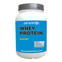 Just Nutrition Whey Protein, 2.2 lb Banana - $69.95