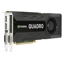 4GB HP Quadro K5000 GDDR5 PCI Express 2.0 x16 Full-height C2J95AA Graphi... - $230.41