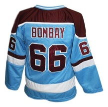 Gordon Bombay #66 Waves Mighty Ducks Hockey Jersey New Blue Any Size image 2