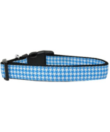 Adjustable Houndstooth Nylon Dog Collar by Mira... - $10.75