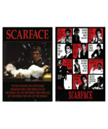 Scarface Collector Set of 2 Classic POSTERS Size Each 24x36 Best Images ... - $21.99