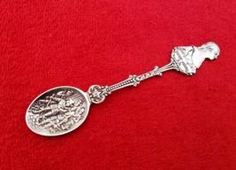 George Washington Mt Vernon Silverplate Souvenir Spoon Holland Rembrandt... - $15.83