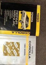 1990 Toyota COROLLA Service Repair Shop Manual Set W ELECTRICAL WIRING D... - $59.39