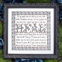 Building Block Heal cross stitch chart My Big Toe Designs - $8.00