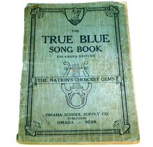 "Vintage ""The True Blue Song Book"" Enlarged Edition [Paperback] - $1.95"