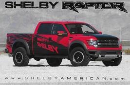 2011-2014 Shelby RAPTOR sales brochure catalog card F150 Ford - $6.00