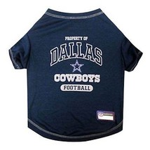 DALLAS COWBOYS Dog T-Shirt * NFL Football Team Fan Gear Pet Puppy Tee Sh... - €15,73 EUR