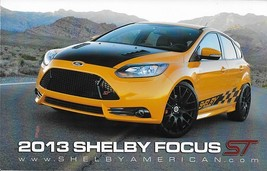 2013 Shelby FOCUS ST sales brochure card sheet 13 Ford - $6.00
